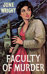 Faculty of Murder cover