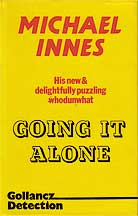 Going It Alone dust jacket