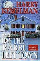 Day Rabbi Left Town dust jacket