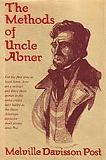 The Methods of Uncle Abner cover