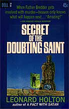 Secret of the Doubting Saint dust cover